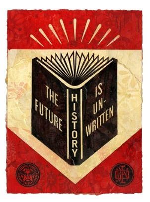 History The Future is Unwritten Study (Black), 2019