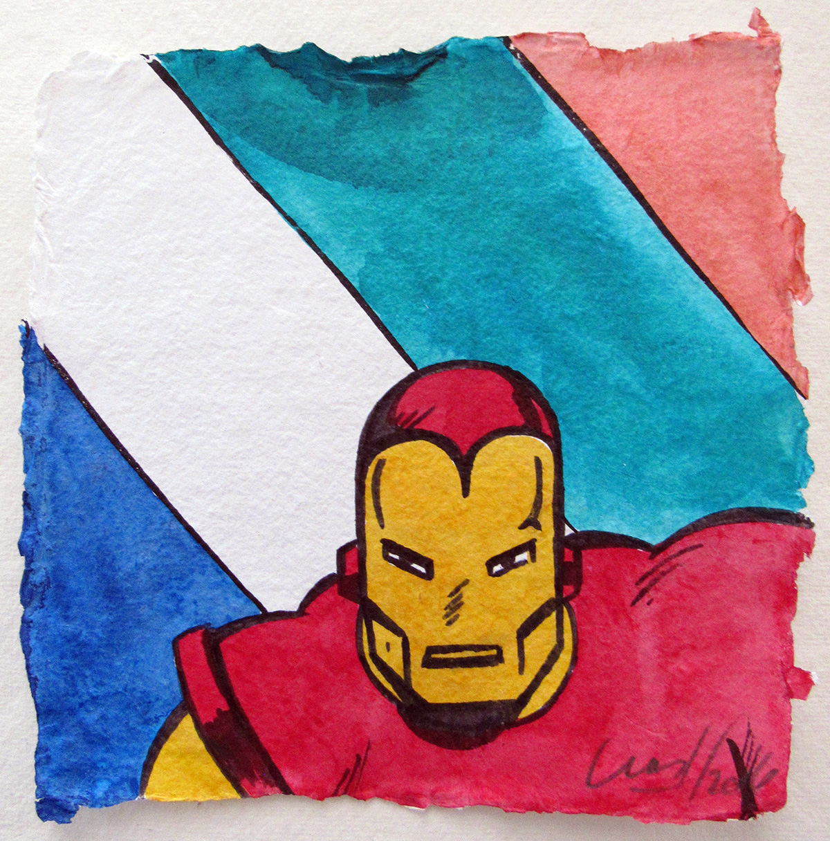 Ironman - Aquarelle, 2016
