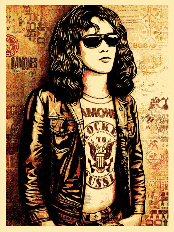 Tommy Ramone Red, 2016